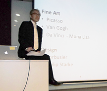 Corporate Social Responsibility – Fine Art and Design Talk at LaSalle