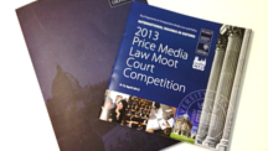Judging the Price Media Moot Competition 2013